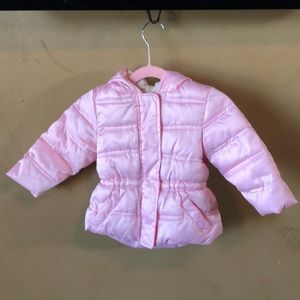 Baby pink faded glory children's jacket 12 months
